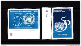 1995 Central African Republic United Nations - Centraal-Afrikaanse Republiek