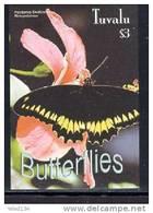 TUVALU  924  MINT NEVER HINGED SOUVENIR SHEET OF BUTTERFLIES - Butterflies