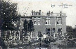 Rabosée (Wandre) - Café Des Quatre Bras - Le Jardin - LEGIA - J. Mat.  Photo Liègeoise - Circulé: 1934 - Voir 2 Scans - Luik