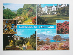 Postcard Gardens Of Lakeland Trees & Shrubs Multiview  My Ref B21499 - Trees