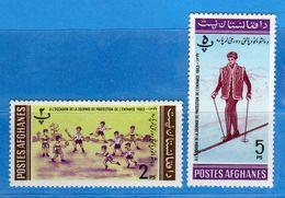 Ref.(MN1) AFGHANISTAN **-1963 -  .Yvert. 746E - 746H . MNH NUOVI  Vedi Descrizione - Afghanistan