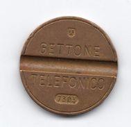 Gettone Telefonico 7303 Token Telephone - (Id-687) - Professionali/Di Società
