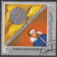 915 Yemen 1969 YAR Astronomia Space  Satellite Lunik II Kepler Keplero Astronomo Astrologo  Matematico - Astrologia