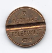 Gettone Telefonico 7804 Token Telephone - (Id-726) - Professionali/Di Società