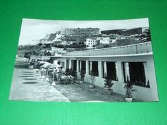 Cartolina Isola D' Elba - Portoferraio - Ristorante Le Sirene 1955 Ca - Livorno