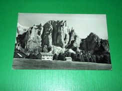 Cartolina Rifugio Larsec ( Ciampedie ) Verso I Dirupi Di Larsec 1955 - Trento
