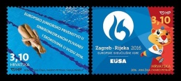 Croatia 2016 Mih. 1234/35 Junior Sports Events MNH ** - Croacia