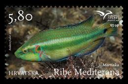 Croatia 2016 Mih. 1236 EUROMED. Fishes Of The Mediterranean Sea MNH ** - Croacia