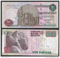 EGYPT / EGYPTE / ÄGYPTEN , 10 POUNDS SIGN.FAROUK EL-OKDA 2012, UNC - Egipto