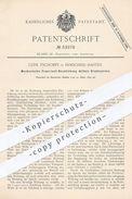 Original Patent - Clem. Tschoepe , Remscheid Hasten , 1890 , Feuerrost - Beschickung Mittels Drahtspirale   Dampfkessel - Historische Dokumente