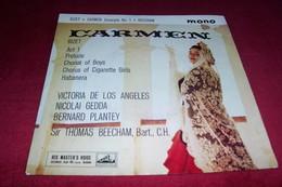 CARMEN / BIZET ACT 1 PRELUDE  CHORUS OF BOYS  CHORUS OF CIGARETTE GIRLS HABANERA  / VICTORIA DE LOS ANGELES +++ - Classical