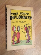 Rare MINI-RECIT SPIROU Années 60/70 En Hollandais N°??? TWEE ECHTE DIPLOMATEN , Monté Mais PAS Par Mes Soins - Boeken, Tijdschriften, Stripverhalen