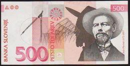 1992 SLOVENIA 500 PETSTO NOTE IN A CRISP HIGH GRADE. - Slovenia