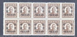 CHINA  NORTH-EAST 5 X 10  * - North-Eastern 1946-48
