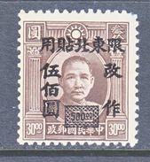 CHINA  NORTH-EAST  44    * - North-Eastern 1946-48