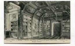 CPA  51 : REIMS Les Amis Du Vieux Reims Bibliothèque  N° 9  A  VOIR  !!!!!!! - Reims