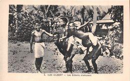 ¤¤  -  6  -  ILES GILBERT   -  Les Enfants S'amusent   -  ¤¤ - Kiribati