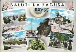 Sicilia-ragusa Citta' Saluti Da Ragusa  Belle Vedute Di Ragusa Anni 50/60 - Ragusa