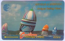 Antigua Phonecard EC$10 Sailing Week 18CATA - Antigua And Barbuda