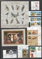 UKRAINE 2003 Complete Year Set + Sheetlets + 2Booklet / Jahressatz-2003 +KLB + 2MH / L'ensemble Année Complète **/MNH - Ukraine