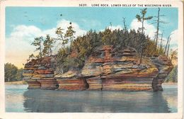 ¤¤  -  ETAT-UNIS  -   WISCONSIN   - Lone Rock , Lower Dells Of The Wisconsin River  -  Oblitération  -  ¤¤ - Etats-Unis
