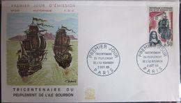 Enveloppe FDC 545 - 1965 - Ile Bourbon - Bateaux - YT 1461 - FDC