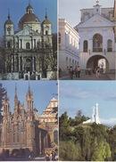 7 CARDS Of VILNIUS In 1990 - Litouwen