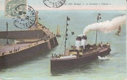 """CPA  BATEAUX.  Dieppe. Le Steamer  """"TAMISE"""" ..F941 - Commerce"""