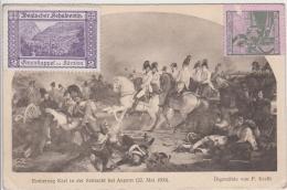 AK - Dt. Schulverein - Erzherzog Karl Ausstellung - Schlacht Bei Aspern 1909 - Otras Guerras