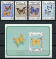 1991-TANZANIA- BUTTERFLYES- CPL.SET- M.N.H.- LUXE !! - Tanzania (1964-...)
