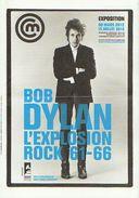 PROGRAMME EXPOSITION Bob DYLAN - PARIS 2012 - Posters