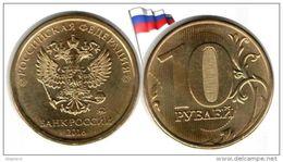 Russie - 10 Roubles 2016 (UNC - Regular Issue) - Russie