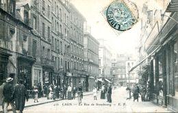 N°54169 -cpa Caen -la Rue De Strasbourg- - Caen