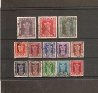 INDIA 1950 - 1951 OFFICIALS SET TO 5R SG O151/O163 FINE USED - Dienstzegels