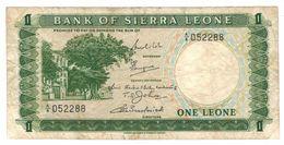 Sierra  Leone  1 Leone , F+. - Sierra Leone