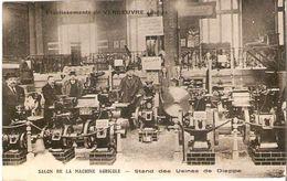Aube / Salon De La Machine Agricole Stand De Dieppe - Bar-sur-Aube