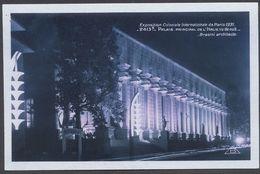 Exposition Coloniale Paris 1931 - Palais Principal De L'Italie Vu De Nuit - Arch. Brasini - N° 2413b - Voir 2 Scans - Mostre