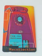 VINTAGE ! 90s' Singapore Telecom Phonecard - Recollection 'Old Telephone' (#126) - Phonecards