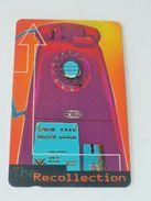 VINTAGE ! 90s' Singapore Telecom Phonecard - Recollection 'Old Telephone' (#126) - Tarjetas Telefónicas