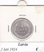 LETTONIA   1 LATI  1924  COME DA FOTO - Lettonia