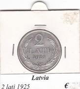 LETTONIA   2 LATI  1925  COME DA FOTO - Lettonia