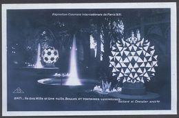 Exposition Coloniale Paris 1931 - Ile Milles Et Une Nuits Boules Fontaines Lumineuses - N° 2471 - Voir 2 Scans - Ausstellungen