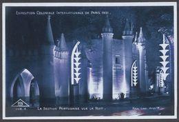 Exposition Coloniale Paris 1931 - La Section Portugaise Vue La Nuit - N° 208 E - Voir 2 Scans - Tentoonstellingen