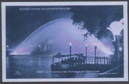Exposition Coloniale Paris 1931 - La Passerelle Des Palmes Et Les Ponts D'eau - N° 2223 B - Voir 2 Scans - Mostre