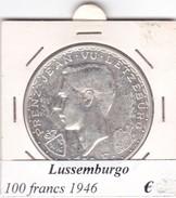 LUSSEMBURGO   100 FRANCS   ANNO 1946  COME DA FOTO - Lussemburgo