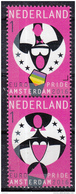 Nederland - Uitgiftedatum 18 Juli 2016 – Europride Amsterdam 2016 - Verticaal Paar 1 - MNH/postfris - Periode 2013-... (Willem-Alexander)