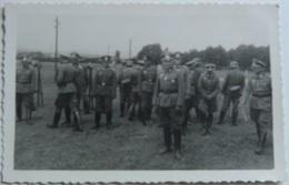 Fotografía Postal Oficiales Alemanes. Alemania. II Guerra Mundial. 1939-1945. - 1939-45