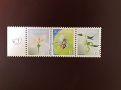 Slovenia 2002 Insects Flowers MNH - Non Classificati
