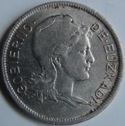 Moneda 2 Pesetas. 1937. Euzkadi. País Vasco. Guerra Civil. España. - Republican Location