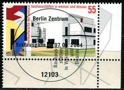 BRD - Michel 2394 ECKE REU - Zentrisch OO Gestempelt (D) - 55C Bauhaus - Gebraucht